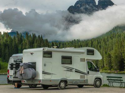 Scenic Camper Camping